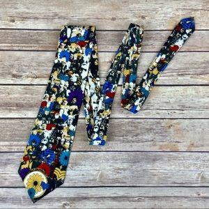 Beatles Collectible Rare 90s Vintage Silk Tie